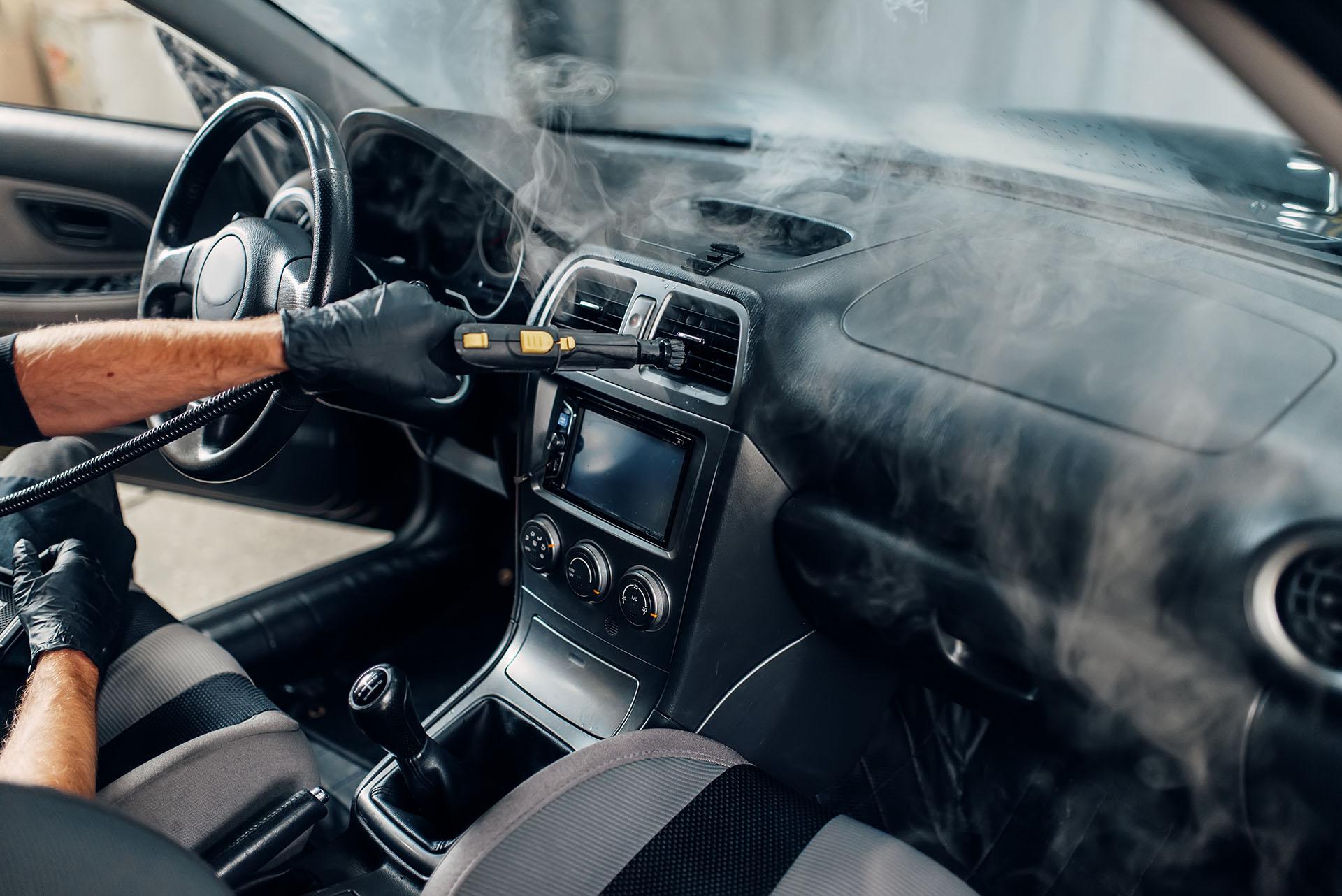 Sanificazione interni a Sermide e Felonica auto